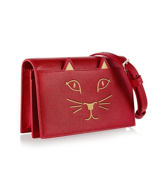 Charlotte Olympia Feline Shoulder Bag
