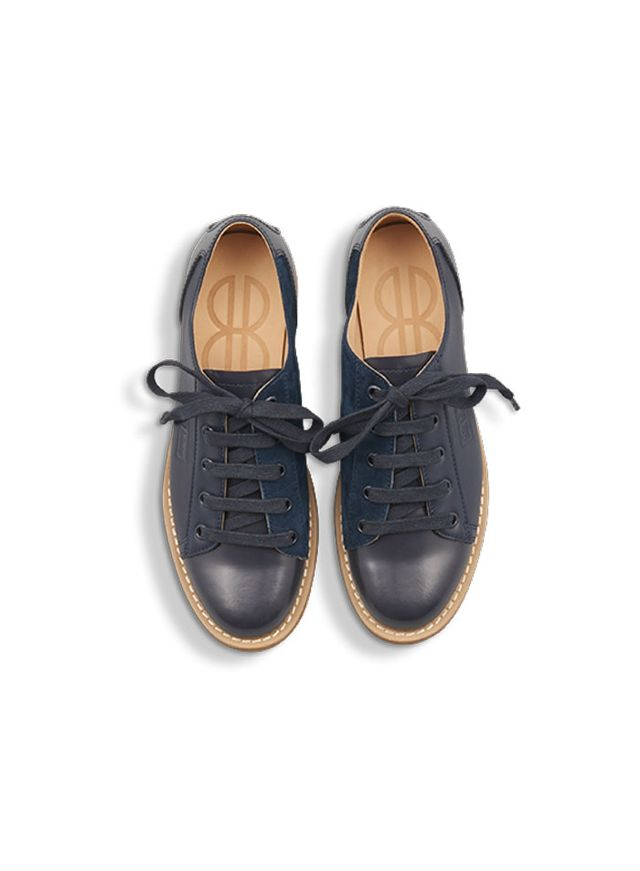 Bill Blass BB Bowler Mixed in Navy