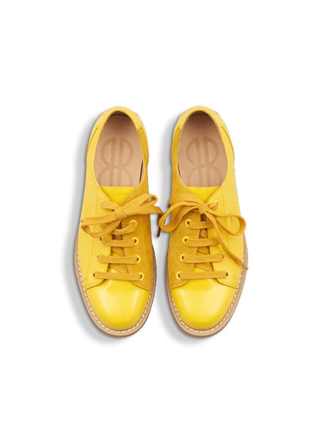 Bill Blass BB Bowler Mixed in Lemon