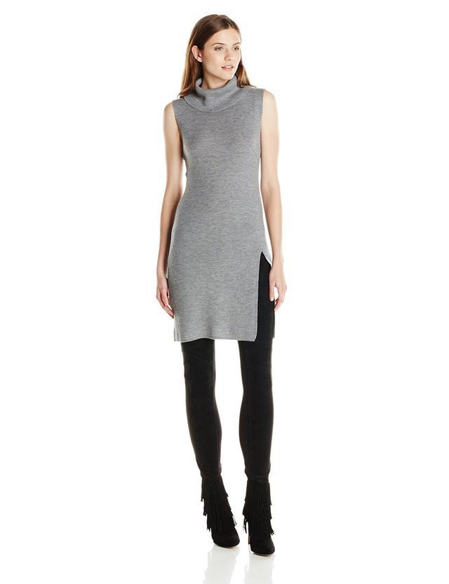 BCBG Max Azria Women's Knit Turtleneck Tunic Dress