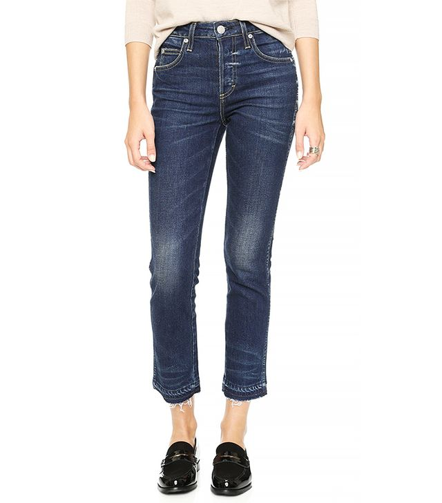 AMO Babe Cropped Jeans