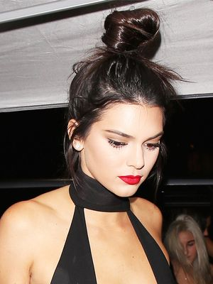 Kendall Jenner Wore a Sheer Jumpsuit at Her Birthday Party