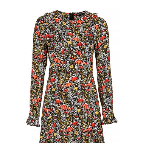 Woodland Floral Print Dress