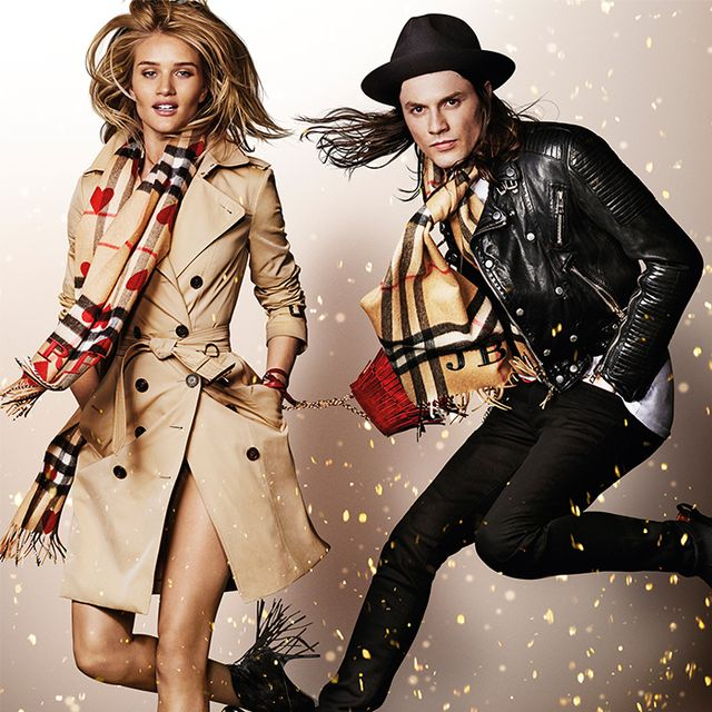 Watch Rosie Huntington-Whiteley Dance in Burberry's Holiday Video