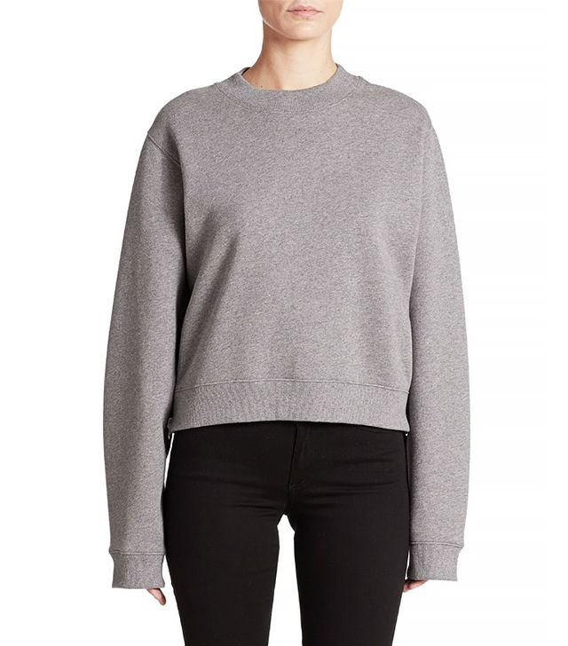 Acne Studios Bird Cropped Sweatshirt