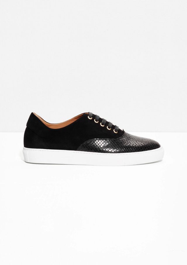 & Other Stories Leather Sneakers