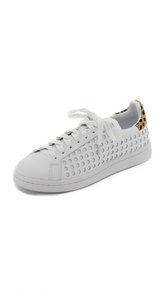 Loeffler Randall Zora Perforated Sneakers