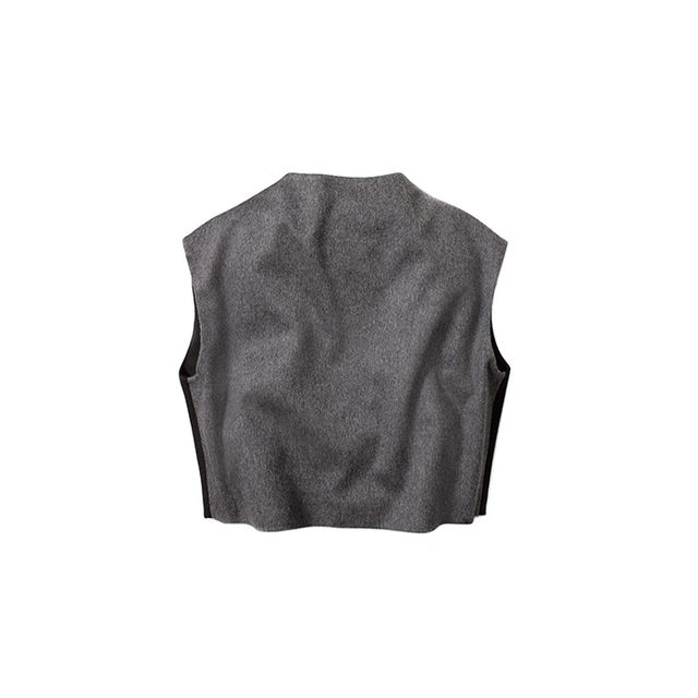 Kenneth Cole New York High-Neck Crop Top