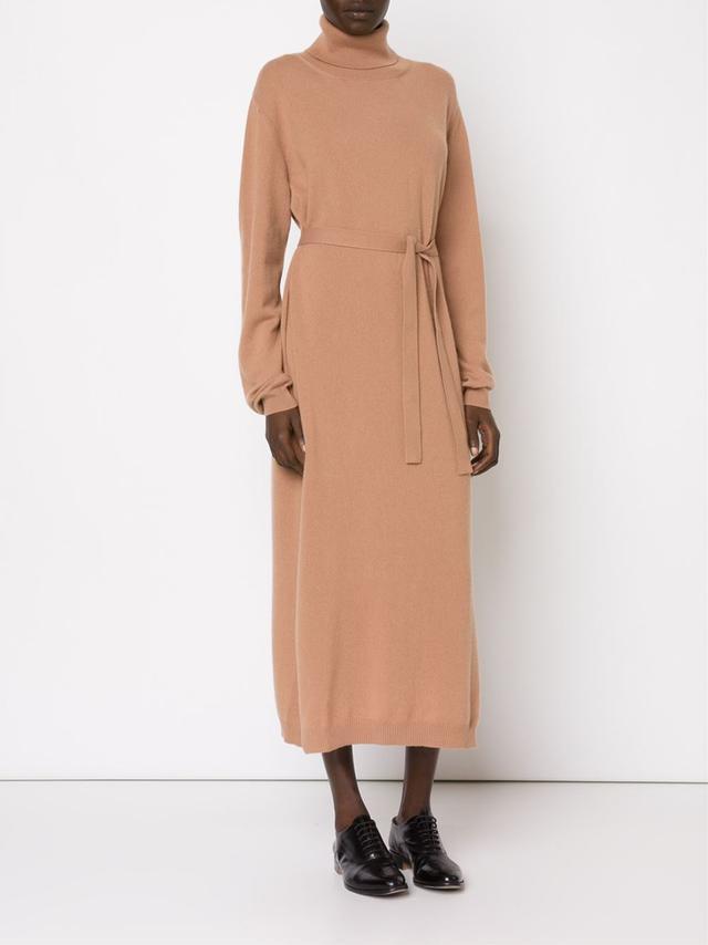 Lemaire Turtleneck Long Sweater Dress