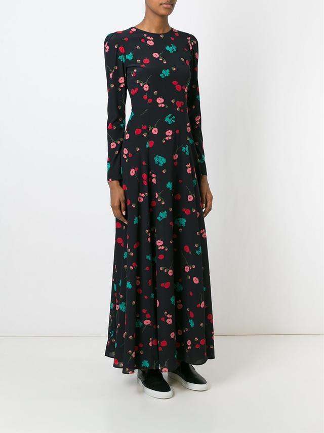 P.A.R.O.S.H. Long Floral Dress