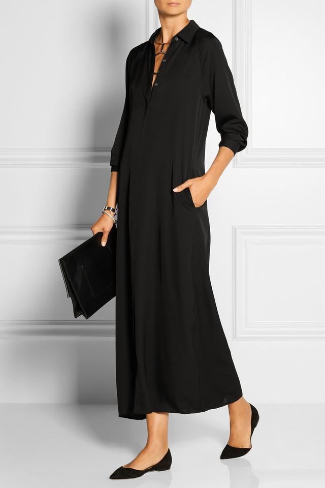 Theory Scenta Silk-Georgette Maxi Dress