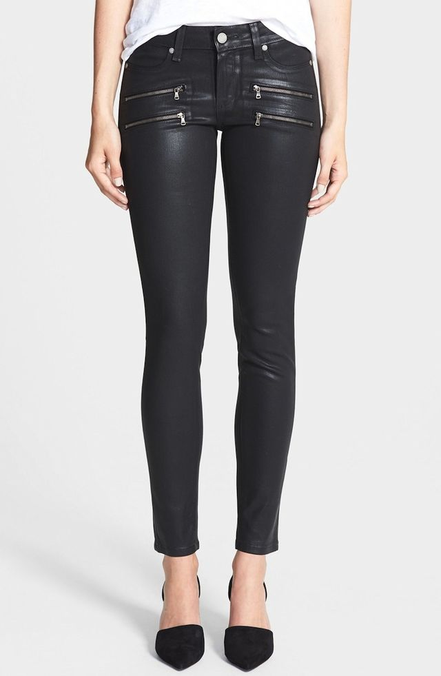 Paige Denim Edgemont Coated Ultra Skinny Jeans