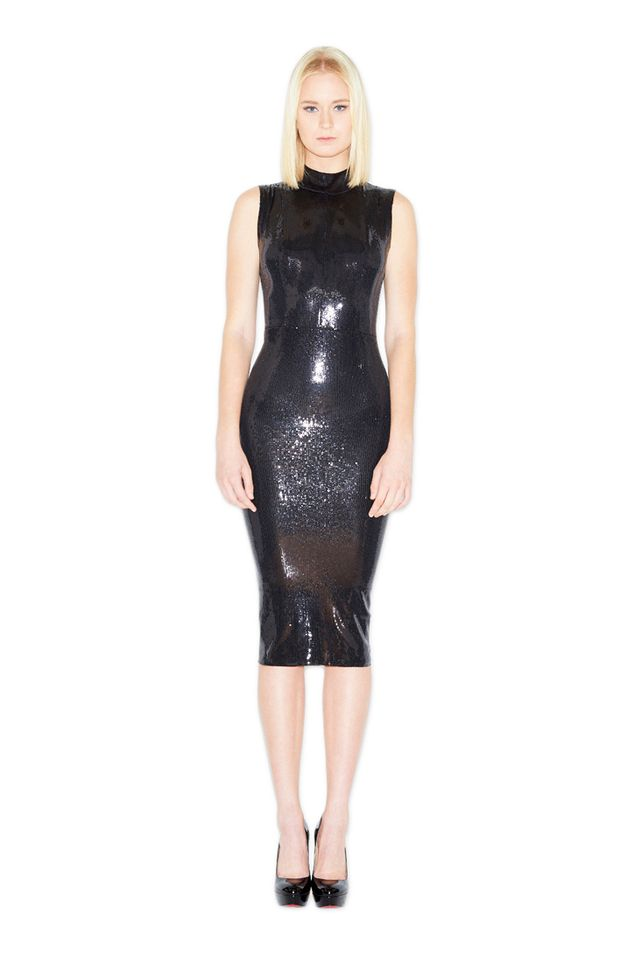 LaQuan Smith Sequin Dress