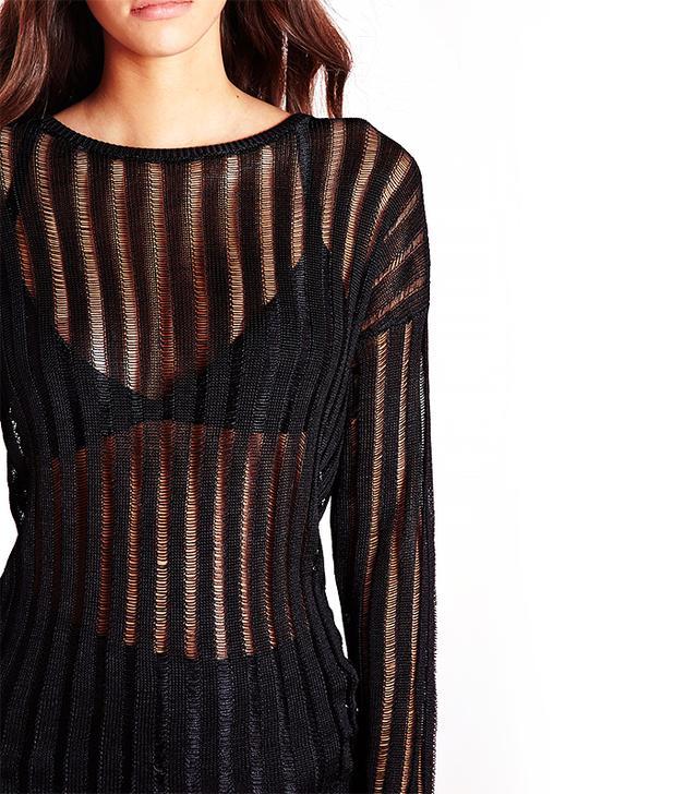 Missguided Ladder Stripe Sweater