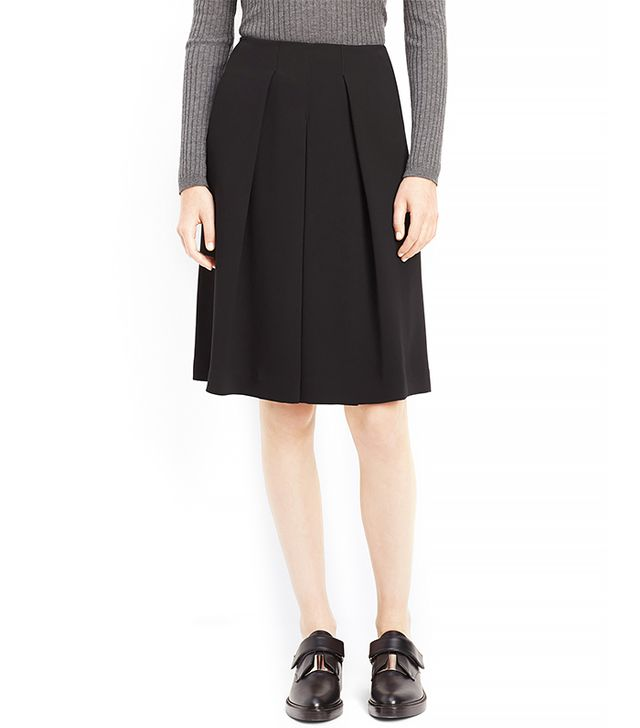 Vince Inverted Pleat Skirt