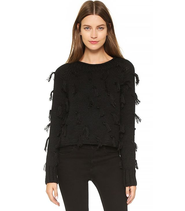Apiece Apart Luluc Fringe Sweater
