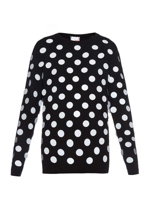 Christopher Kane x Poppy Delevingne Holiday Sweater