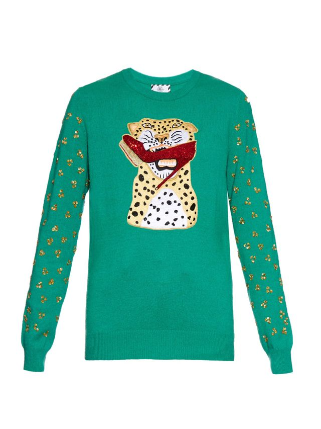 Charlotte Olympia x Karen Elson Holiday Sweater