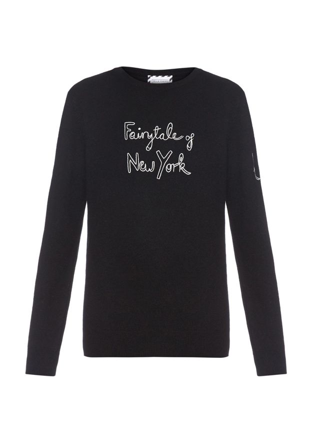 Bella Freud x Kate Moss Holiday Sweater
