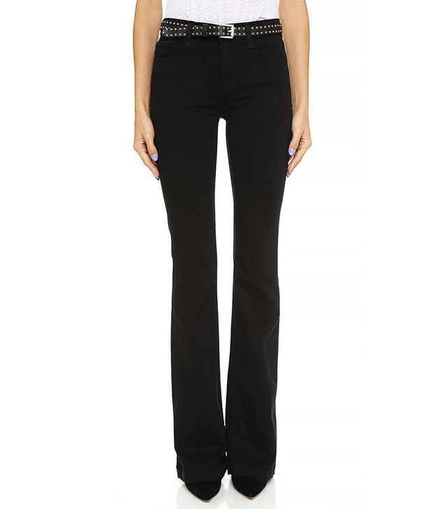 J Brand Maria High Rise Flare Jeans