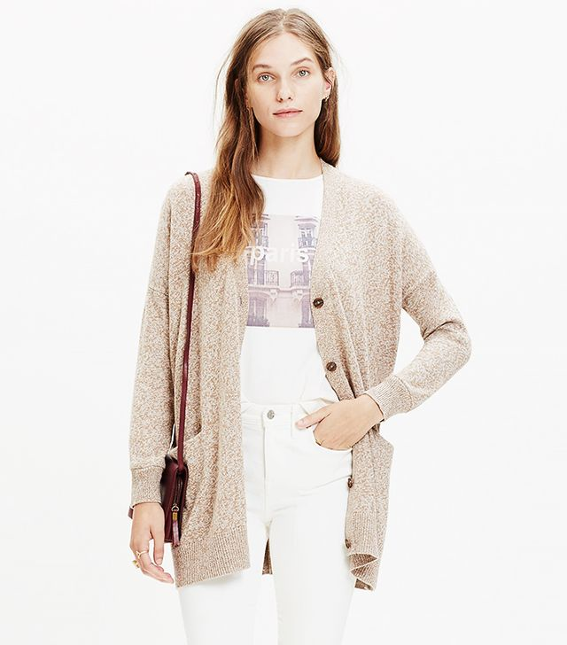 Madewell Long Cardigan Sweater