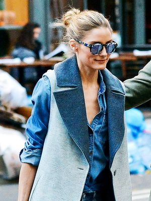 How Olivia Palermo Does Denim on Denim