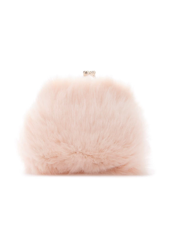 Forever 21 Faux Fur Coin Purse