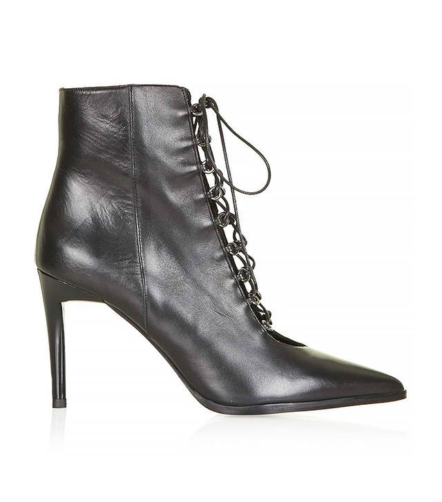 Topshop Mistress Ghillie Boots