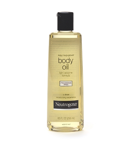 Neutrogena Body Oil, Light Sesame Formula