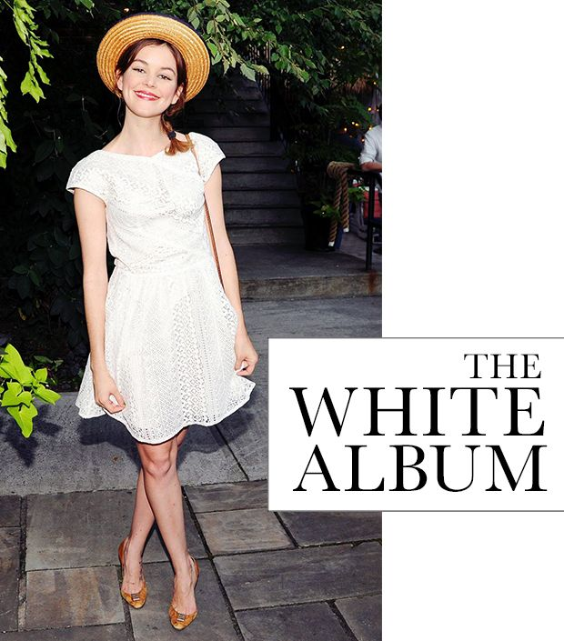 Cool Off In The Season's Best White Dresses