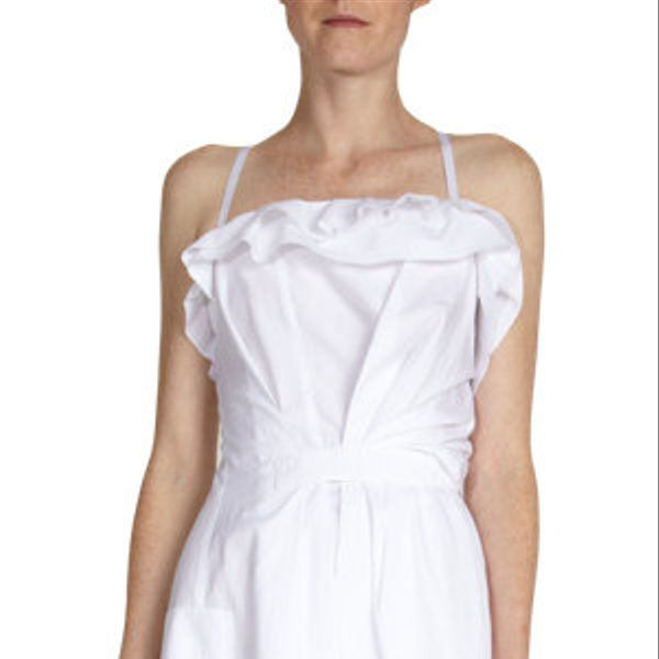 Nina Ricci  Ribbon Shoulder Strap Dress
