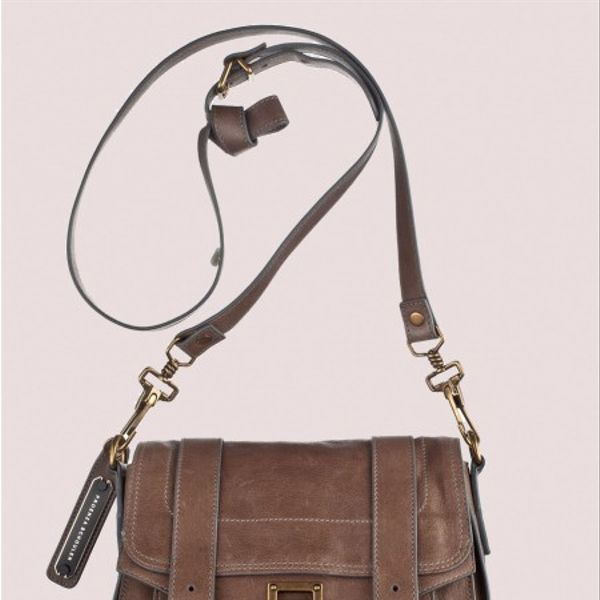 Proenza Schouler   PS1 Pouch Leather Bag