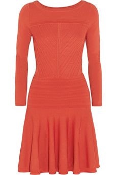 Diane von Furstenberg Delta Stretch-Knit Dress