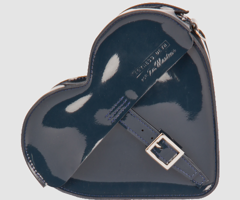 Agyness Deyn for Dr. Martens Mini Heart Satchel