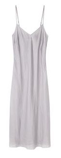 Organic by John Patrick   Long Bias Slip Dress