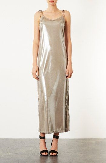 Topshop  Scoop Back Maxi Dress