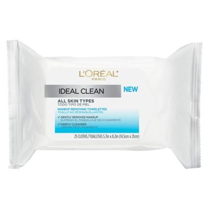 L'Oreal Ideal Clean Towelettes
