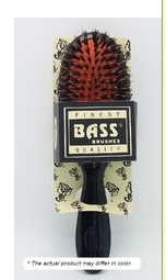 Bass Medium Oval Cushion Boar and Nylon Brush