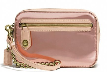 Coach  Poppy Flight Wristlet