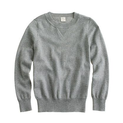 J.Crew  Boys' Cotton-Cashmere Sweatshirt