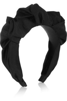 Jennifer Behr  Silk-Satin Headband