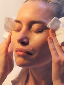 Washing Your Face With Isabelle Bellis
