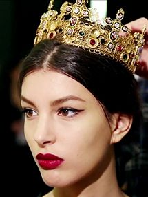 Pat McGrath's Dolce & Gabbana