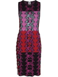 M Missoni  Fitted Hibiscus Dress