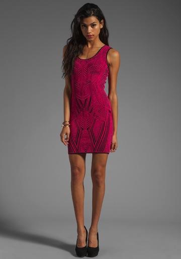 RVN  Aztec Jacquard Dress