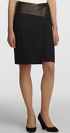 Halston Heritage Tailored Pencil Skirt