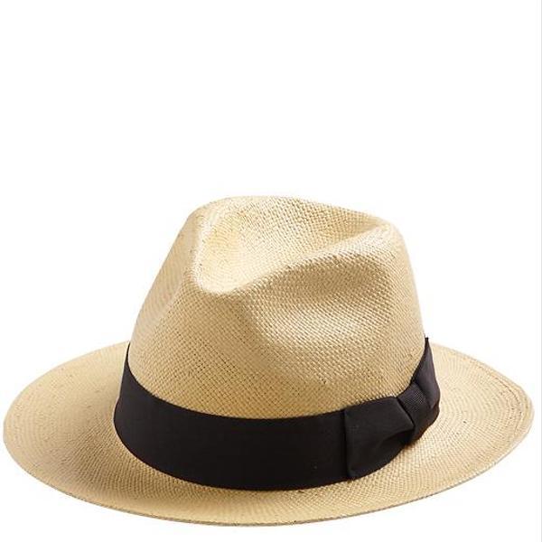 San Diego Hat Company Paper Braid Wide Brim Fedora
