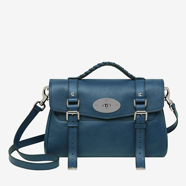 Mulberry Alexa Soft Buffalo Satchel