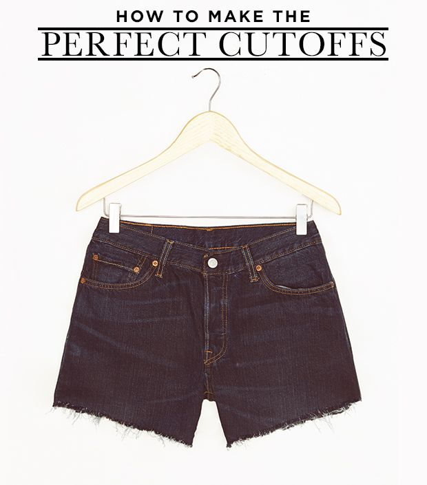 How To Make Your Own Cutoffs--An Editor's Diary