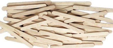 Chenille Kraft  Wood Craft Sticks